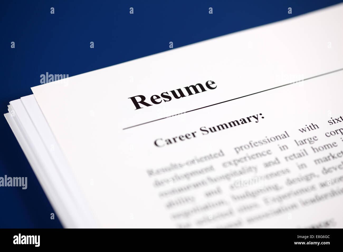 curriculum resume stock photos  u0026 curriculum resume stock