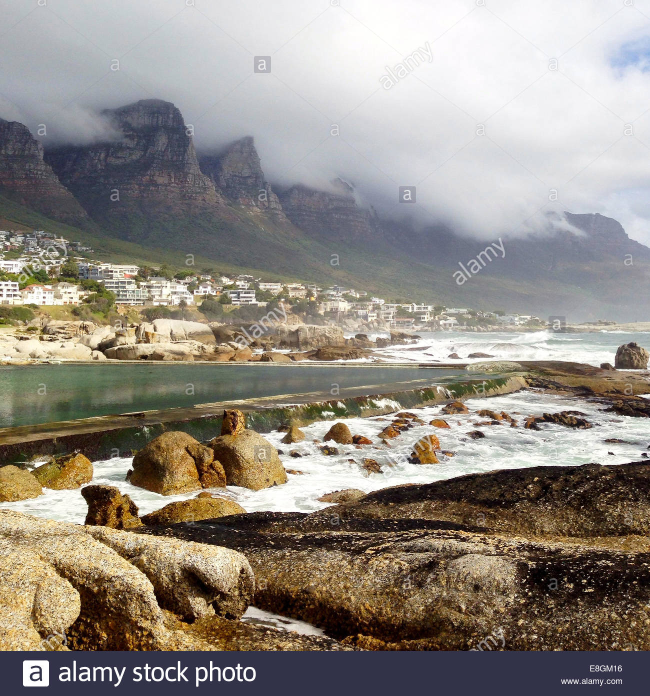 South Africa, View of coastline - Stock Image