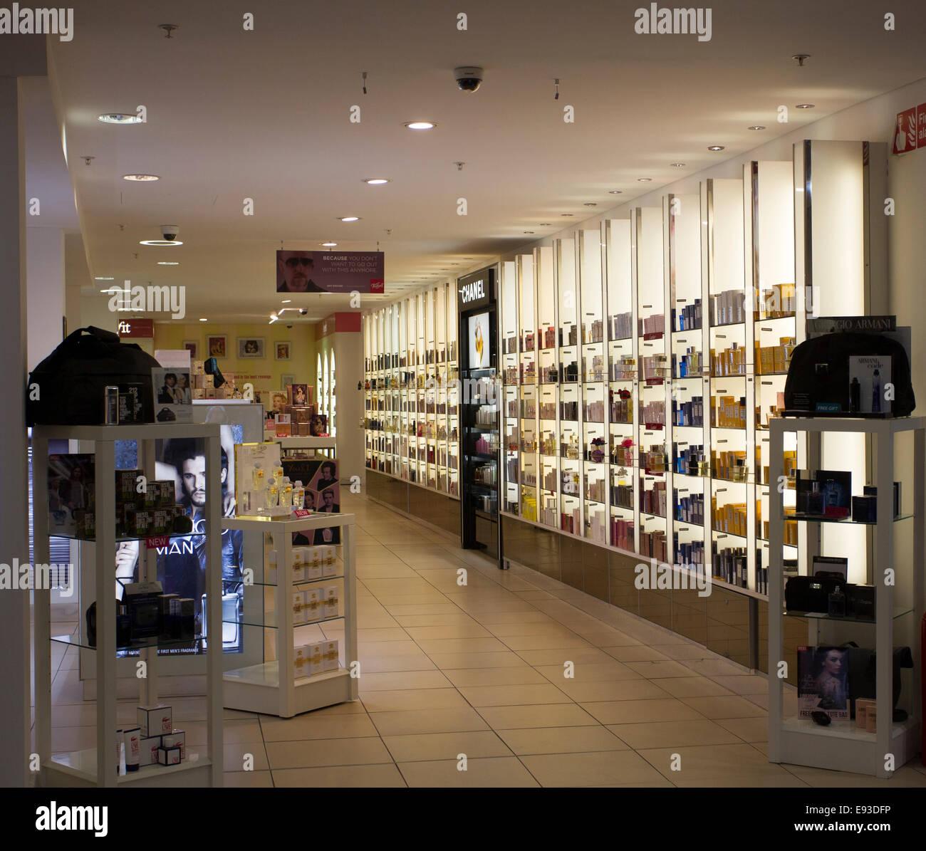 93de21fd5c4e Beauty   perfume shopping in St Helier Stock Photo  74449866 - Alamy