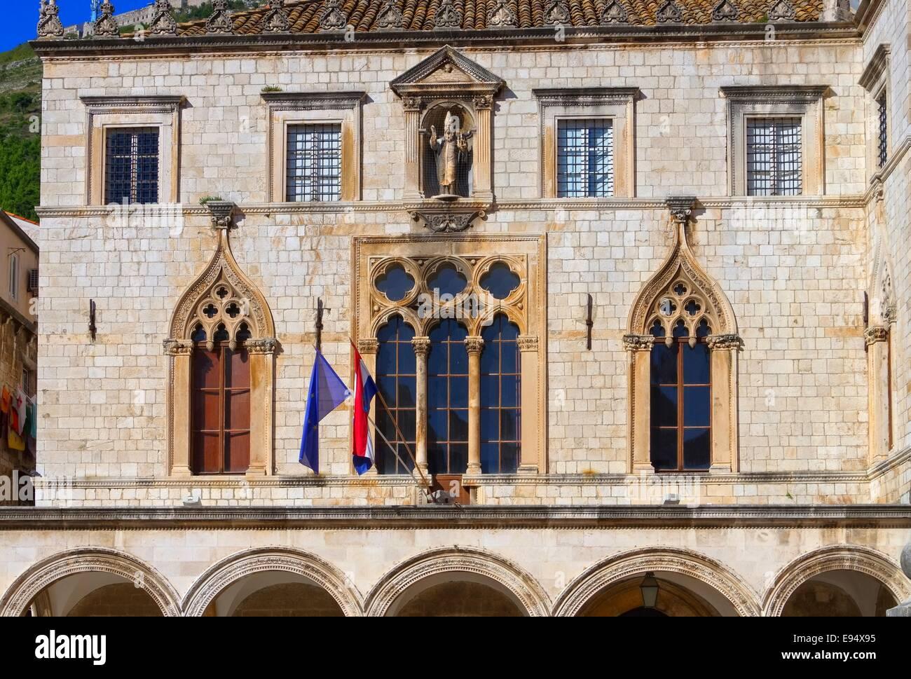 Dubrovnik Sponza Palast - Dubrovnik Sponza Palace 01 - Stock Image