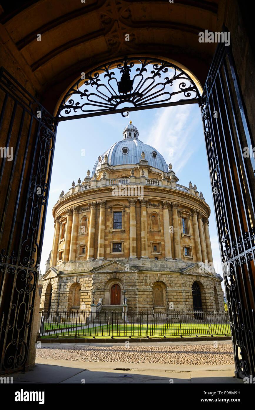 Radcliffe Camera, Oxford, England, UK. - Stock Image