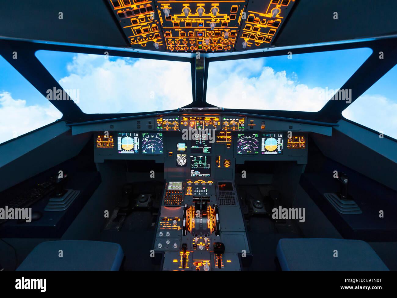 Homemade Flight Simulation Cockpit – Fondos de Pantalla