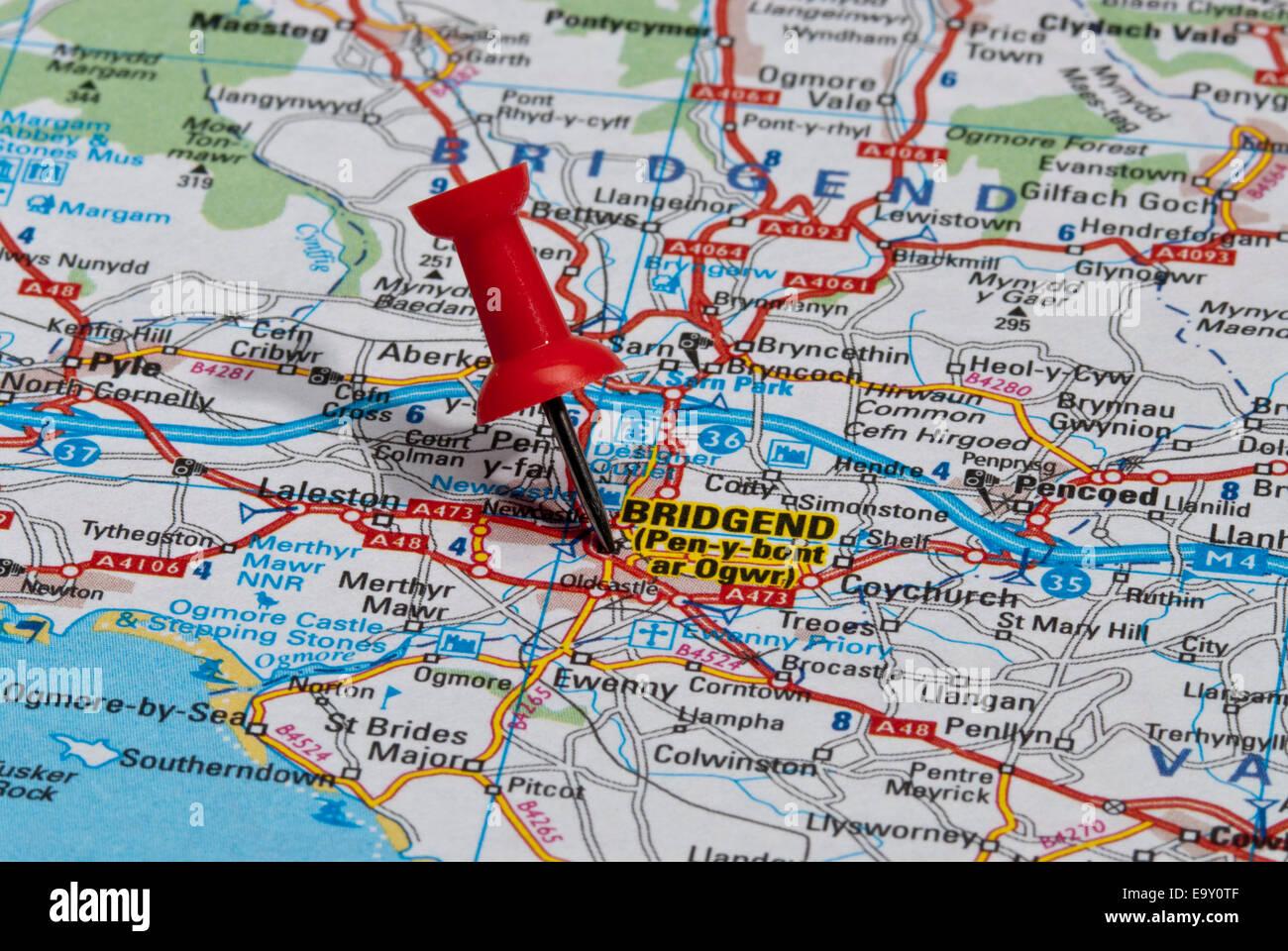 United Kingdom Uk Bridgend Stock Photos United Kingdom Uk Bridgend