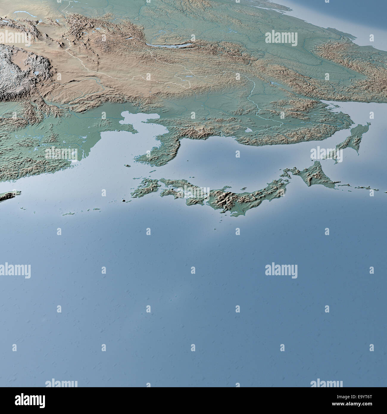 World map physical map asia japan korea china and russia stock world map physical map asia japan korea china and russia gumiabroncs Gallery