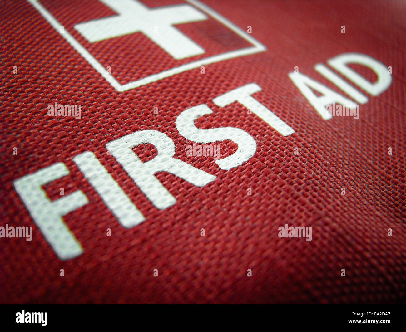 Medical Image Of A First Aid Kit Or Pack - Stock Image