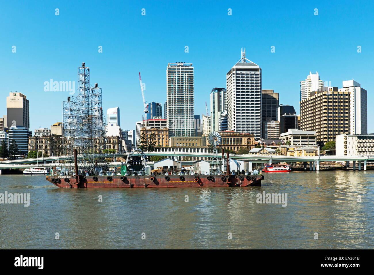 Cityscape. Brisbane, Queensland, Australia, Pacific - Stock Image