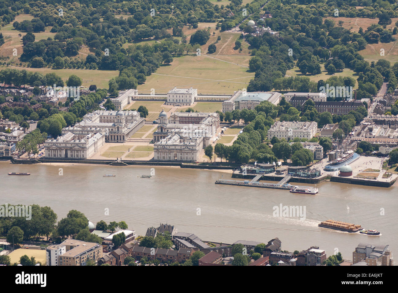 UK, London, Greenwich Maritime Museum - Stock Image
