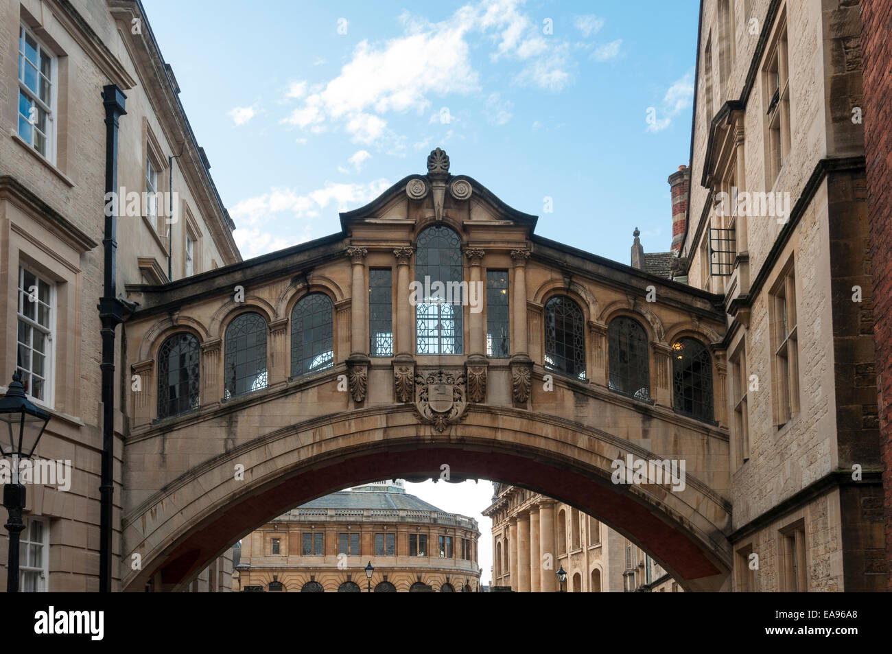 Hertford The Bridge of Sighs New College Lane Oxford - Stock Image