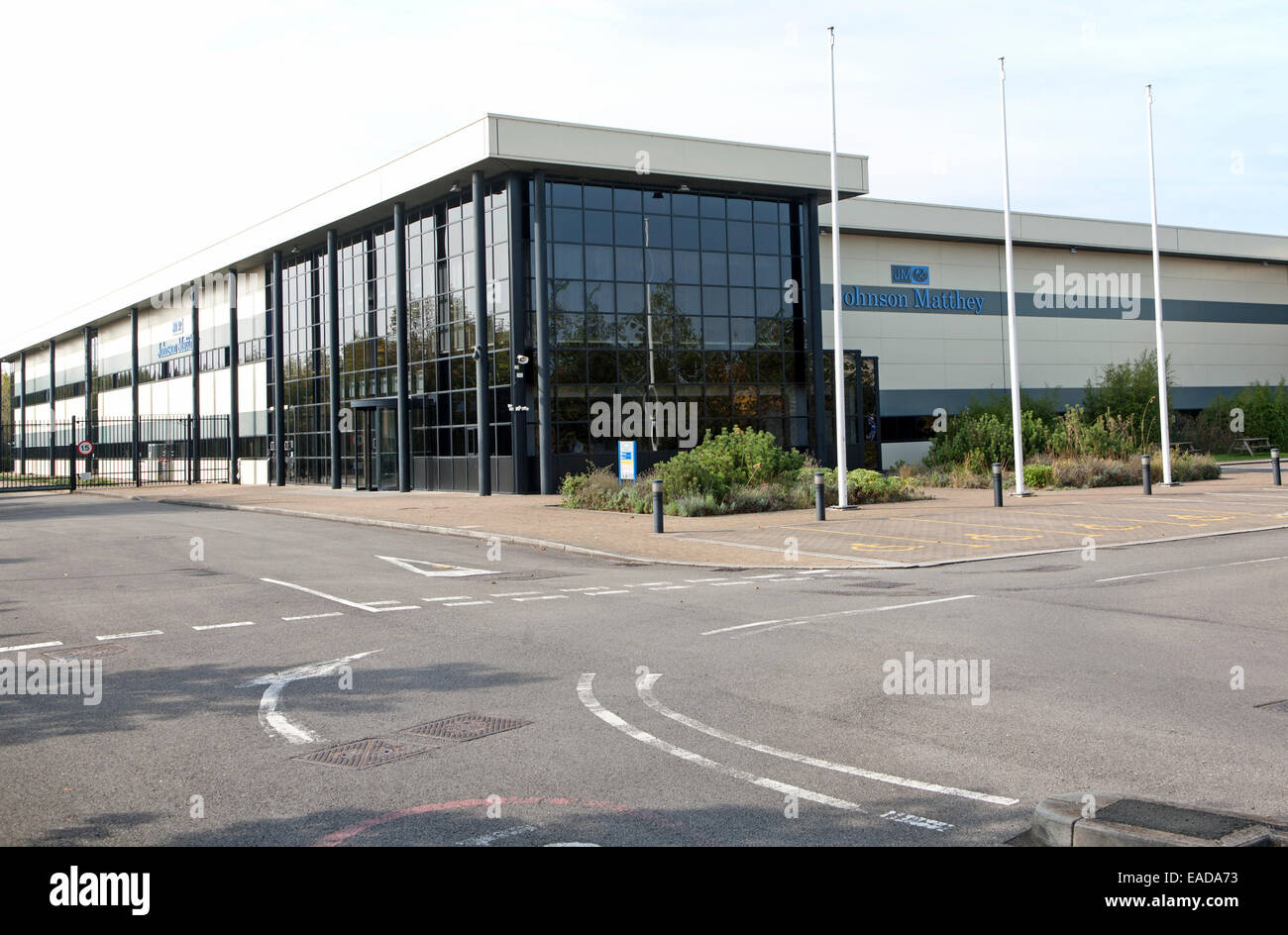 Johnson Matthey Fuel Cells building, Lydiard Fields business park, Swindon, England, UK - Stock Image
