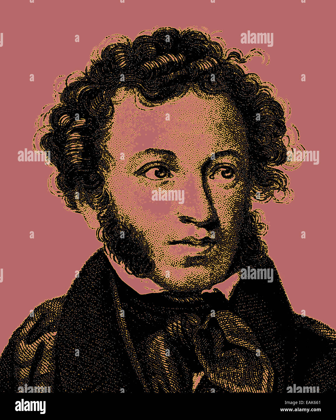 Where was Pushkin born 20