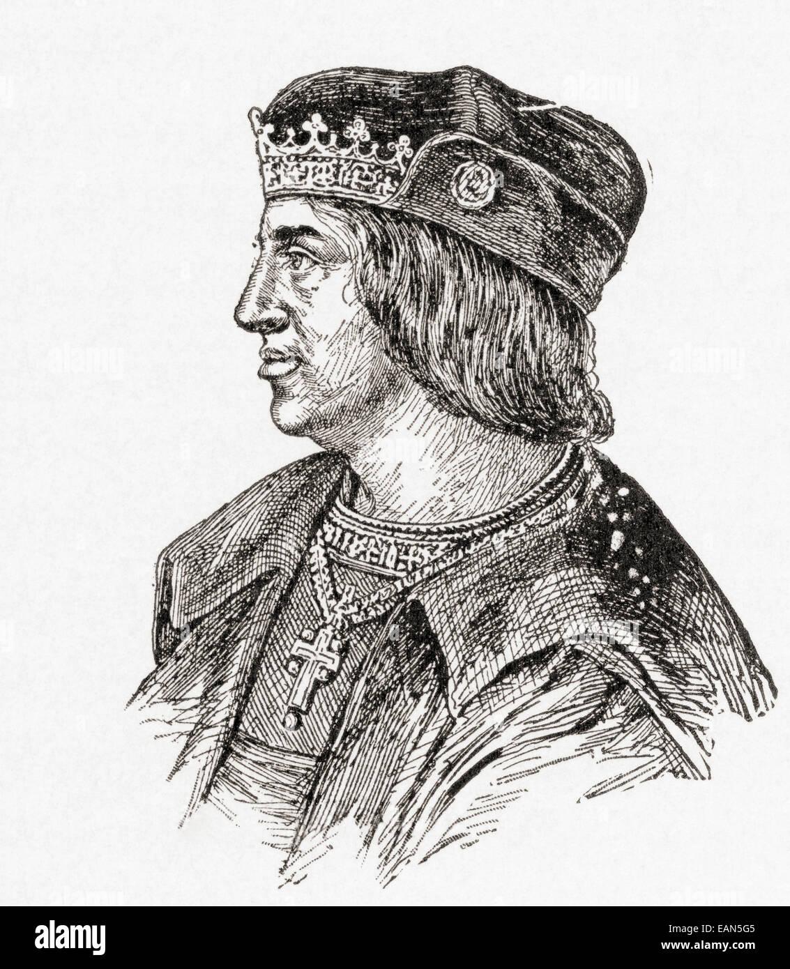 Ferdinand II of Aragon, Ferdinand the Catholic, 1452 – 1516. - Stock Image
