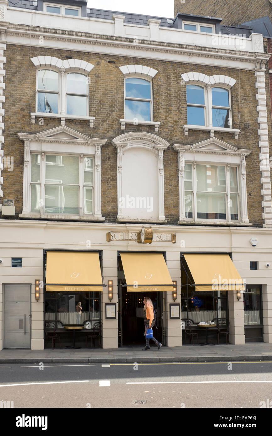 Www Fischer S Restaurant Marylebone High St