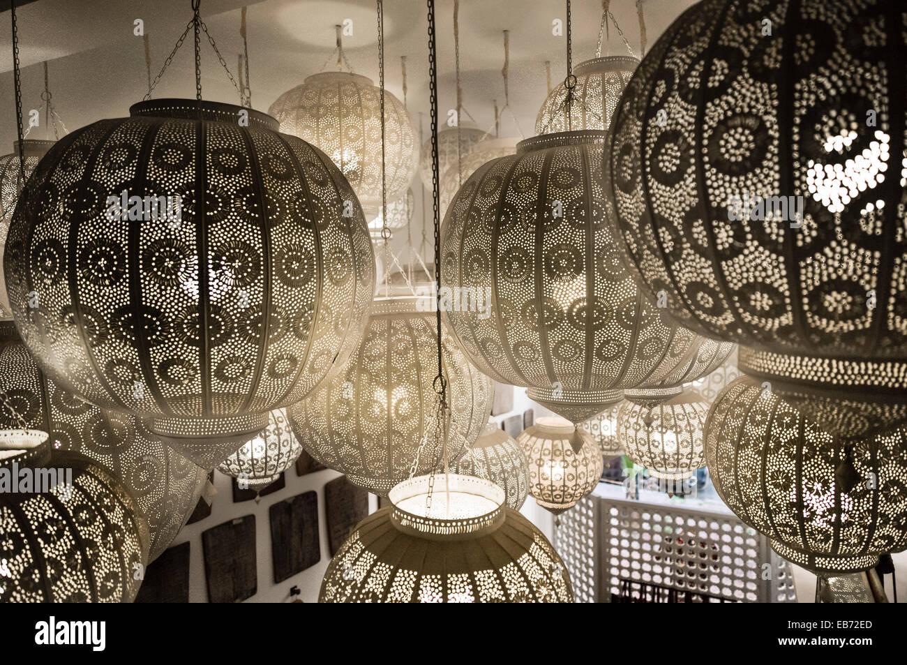 Moroccan lamps marrakesh morocco art lighting stock photo 75758325 moroccan lamps marrakesh morocco art lighting arubaitofo Image collections