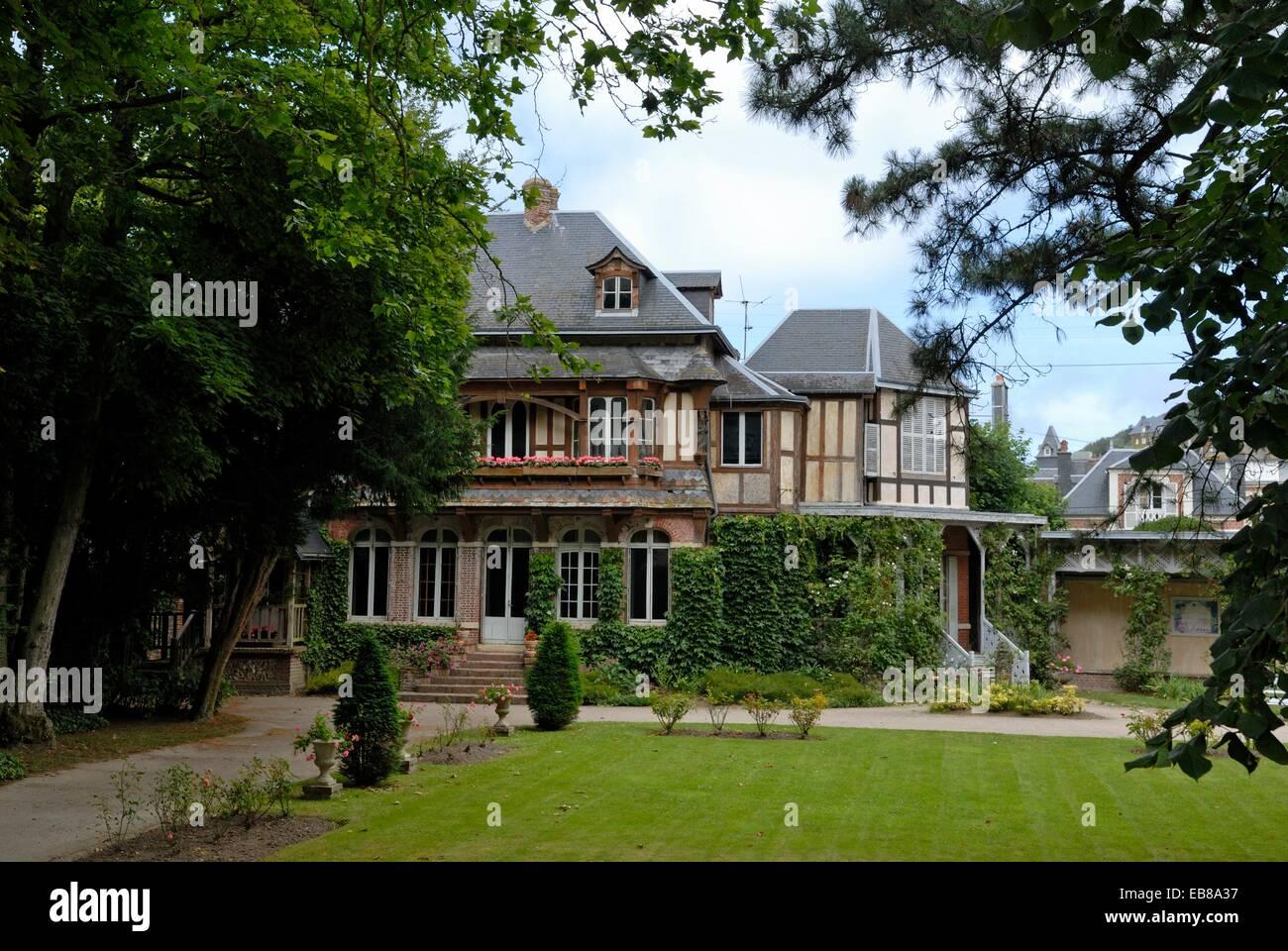 Bon Le Clos Lupin House Maurice Leblanc French Writer And Creator Arsene Lupin  The Famous Gentleman Burglar Etretat Cote D´Albatre