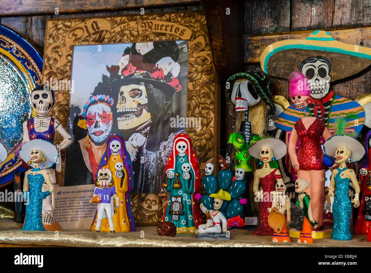 Day Of The Dead Handicrafts Terlingua Trading Company Terlingua