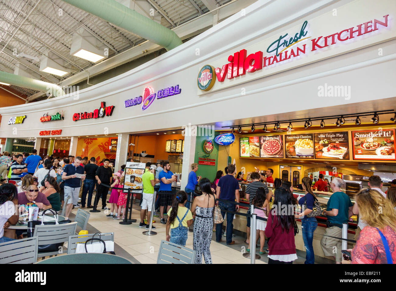 Florida Mall Food Court Restaurants Food Food