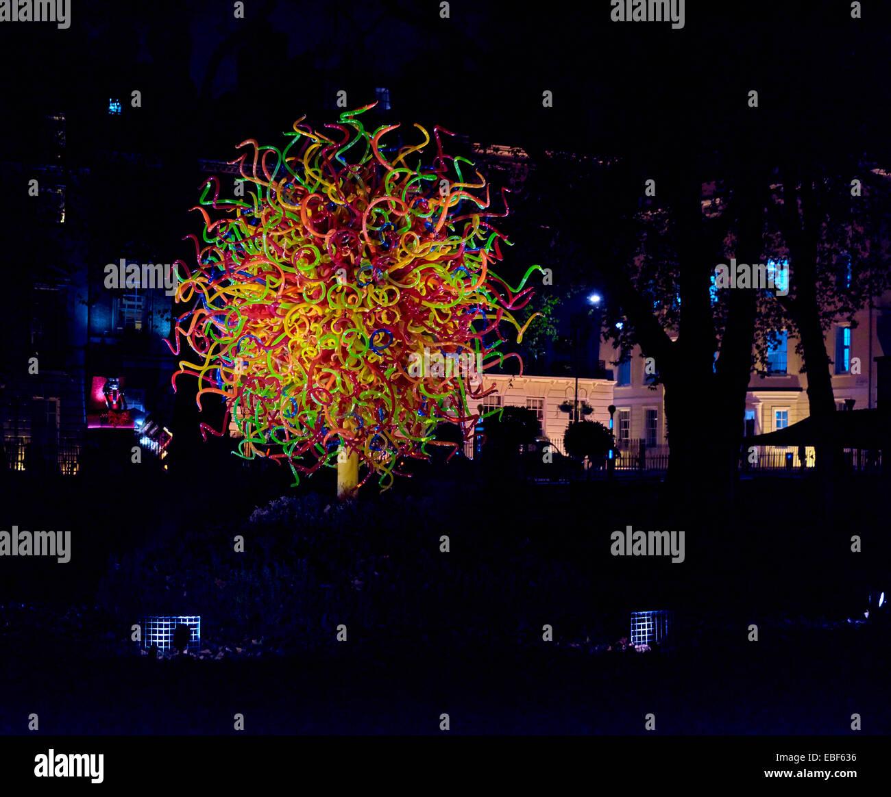 London Christmass Lights 2073