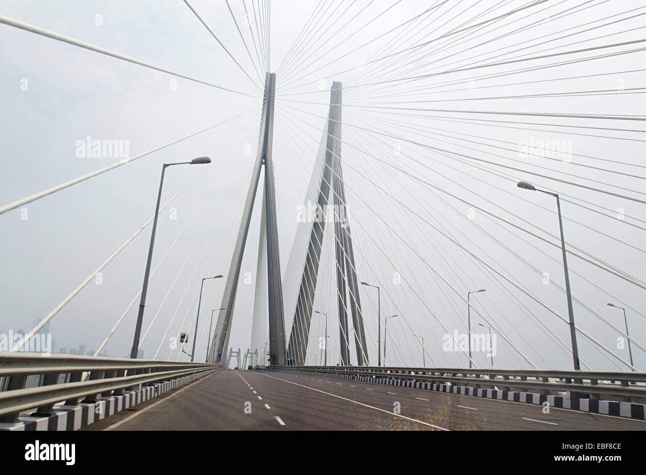 india Mumbai  Bridge  Flyover Stock Photo