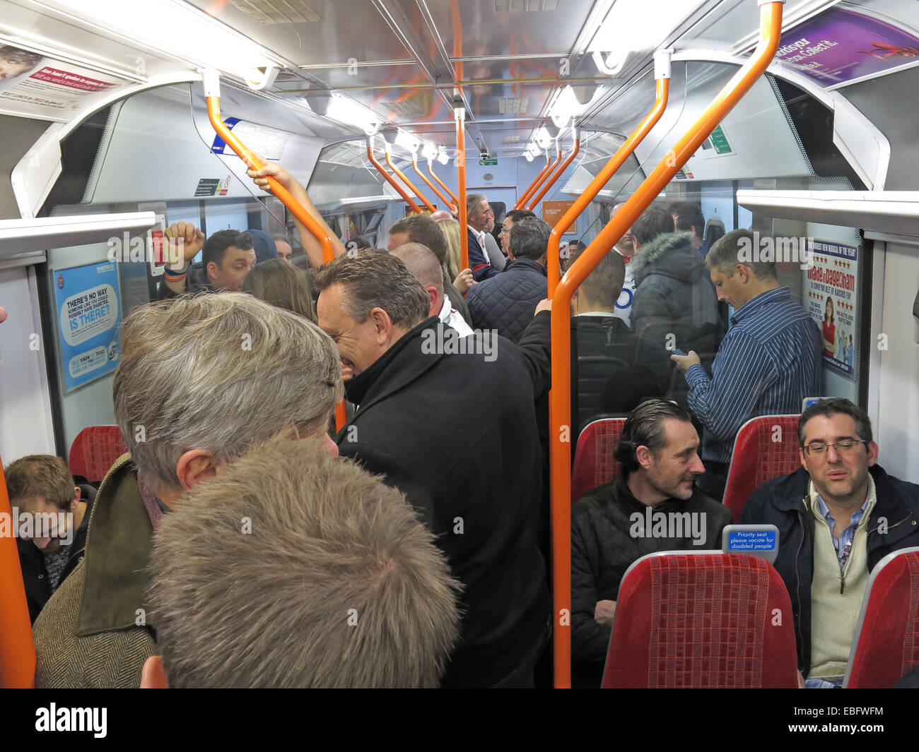South,West,Trains,SWT,is,a,British,train,operating,company,owned,by,Stagecoach,Group,operating,the,South,Western,franchise,at,night,evening,crush,packed,commuter,peak,time,peaktime,public,transport,fail,failing,BR,British,Rail,service,award,awarded,subsidy,wasted,waste,of,expensive,ticket,GoTonySmith,Network,Rail,Clapham,jn,Junction,Junc,season,tickets,poor,complaint,complaints,Buy Pictures of,Buy Images Of
