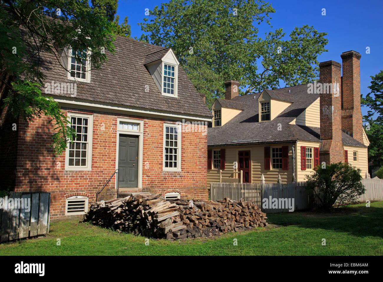 Williamsburg house stock photos williamsburg house stock for Virginia house