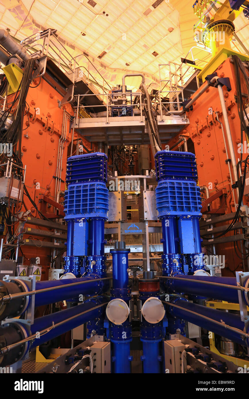 The Jet Tokamakdevice Is Worlds Largest And Most Powerful Fusion Reactor Magnetic Experiment Culham Oxfordshire Ukeu