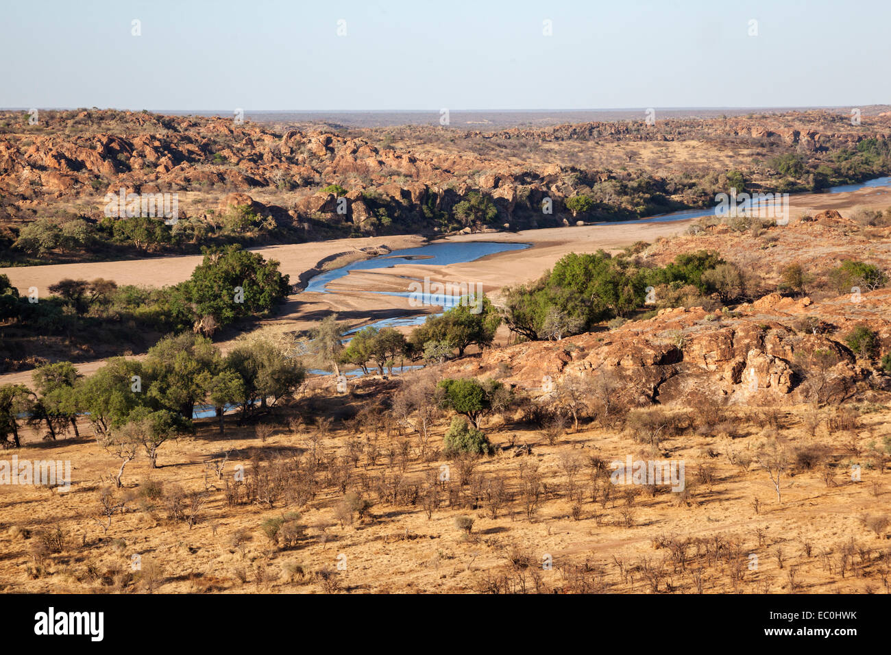 Limpopo province stock photos limpopo province stock images alamy mapungubwe national park view of limpopo and shashi river confluence limpopo province south sciox Image collections