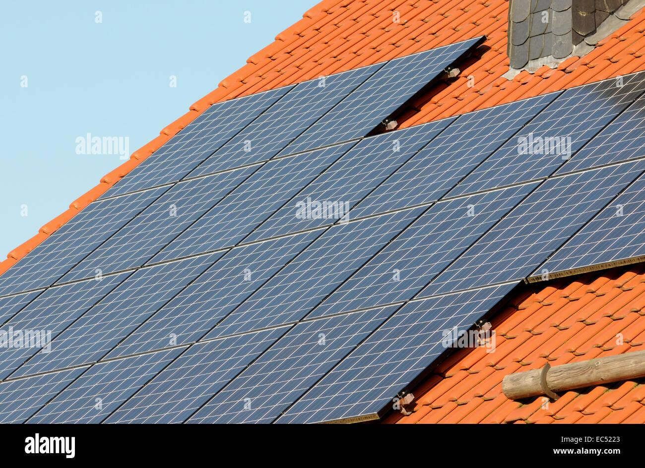 Environmentally friendly energy - Stock Image