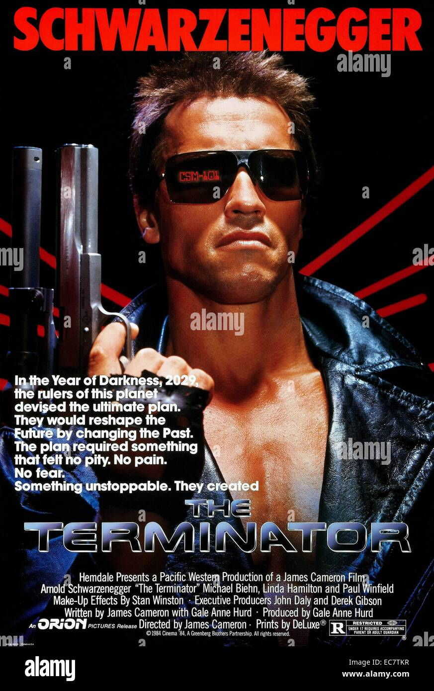 The Terminator - Stock Image
