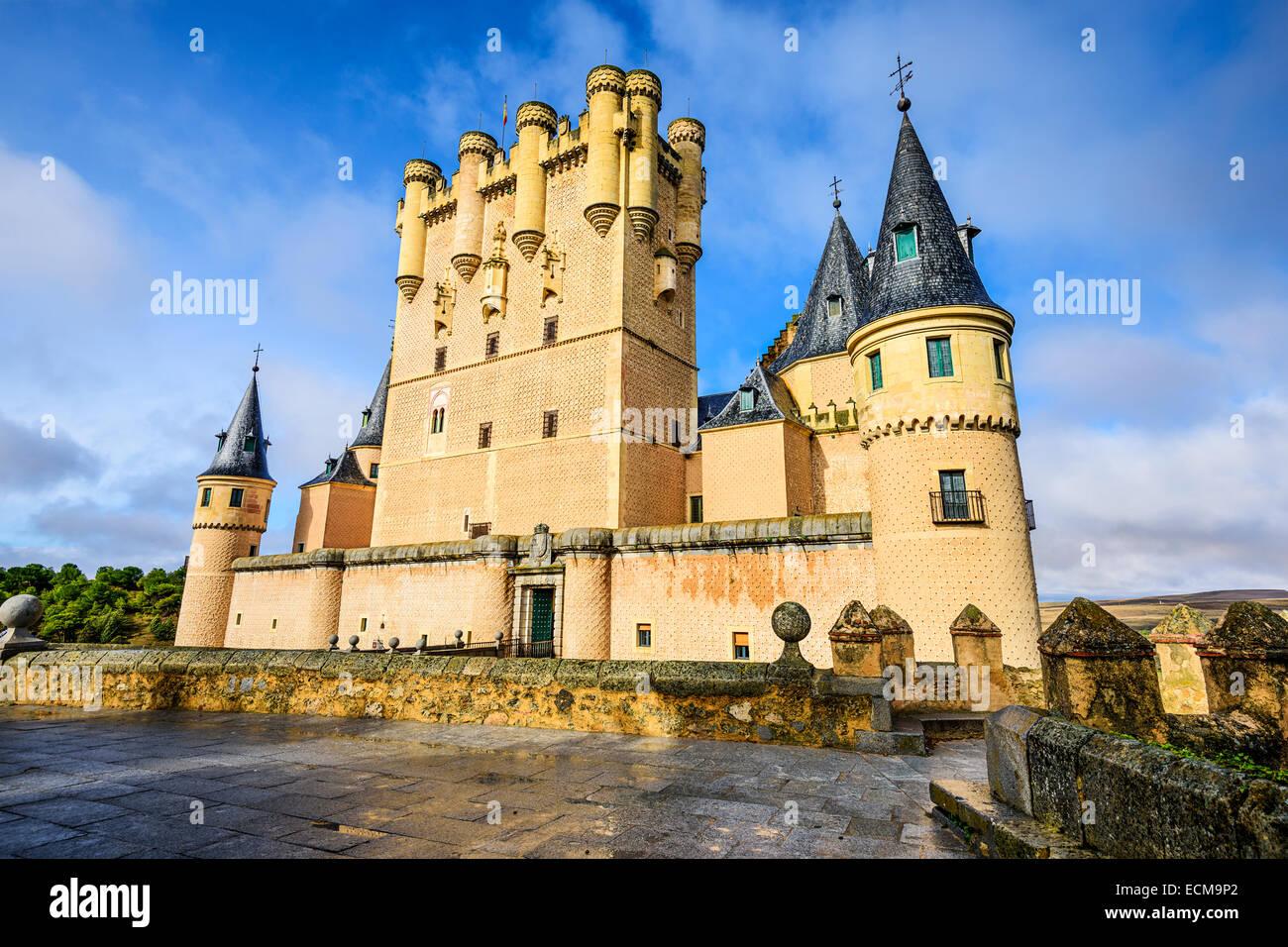 Segovia, Spain at the Alcazar. - Stock Image