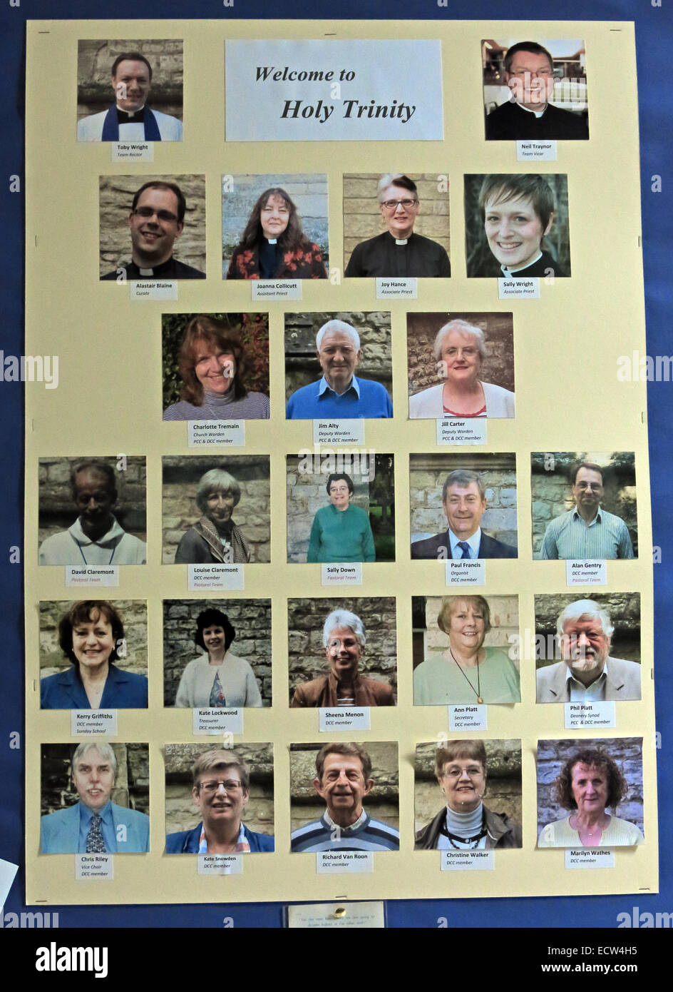 Oxfordshire,England,UK,page,of,helpers,faces,photographs,images,image,priest,verger,Oxen,chrurch,GoTonySmith
