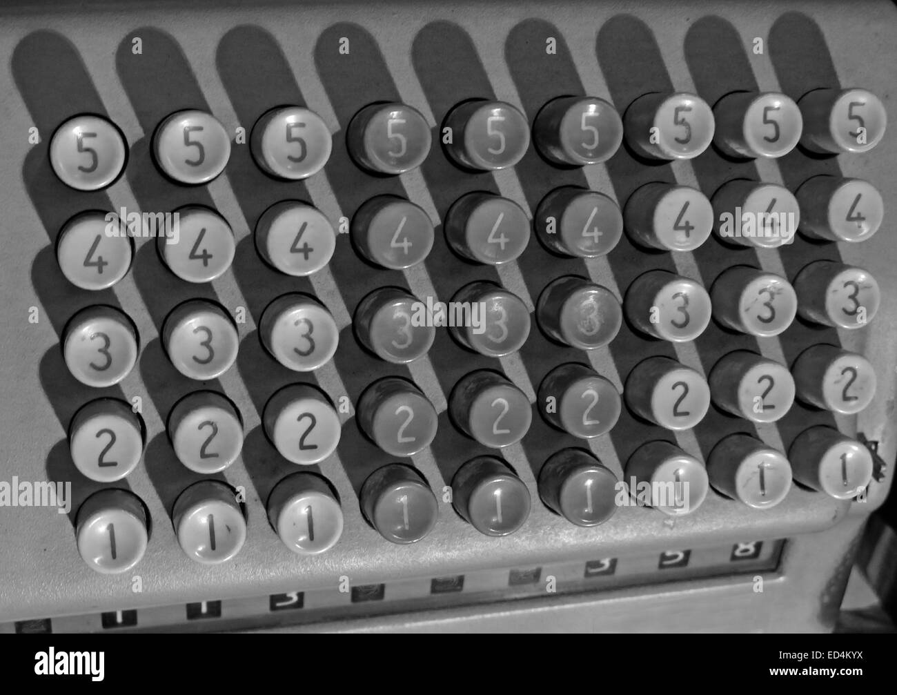 showing,numbered,button,keys,machine,antique,finance,counting,device,buttons,maths,math,mathematical,addition,adding,monochrome,black,and,white,Gotonysmith,Buy Pictures of,Buy Images Of