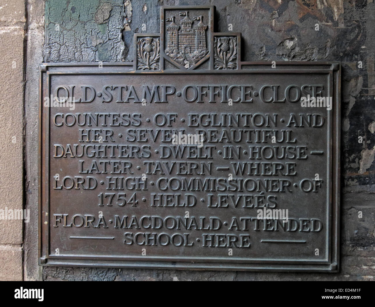 City,Scotland,UK,alley,alleyway,nook,corners,of,old,town,detail,of,plaque,brass,Countess,of,Eglinton,Tavern,called,Fortunes,Tavern,Ships,Tavern',Where,levées,were,held,by,the,General,Assemblys,Lord,High,Commissioner,of,1754,history,historic,old,ancient,Gotonysmith,housing,housed,the,Government,1821.,The,Royal,Bank,1727,to,1753,home,of,The,Countess,of,Eglinton,Tavern,called,Fortunes,Tavern,Ships,Tavern',Where,levées,were,held,by,the,General,Assemblys,Lord,High,Commissioner,of,1754,Flora,McDonald,associated with Bonnie Prince Charlie attended boarding school here.,Buy Pictures of,Buy Images Of