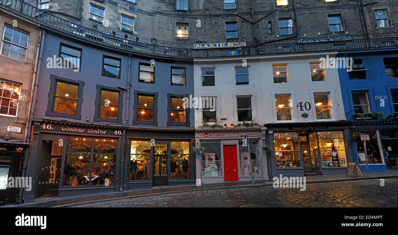 Street,Scottish,building,Street,with,historic,architecture,elegant,curve,colourful,shop,fronts,is,one,of,the,city's,most,picturesque,location,old,West,Bow,Grassmarket,to,Castlehill,Lothian,Scotland,UK,Edinburgh,tourist,trail,track,tourism,night,dusk,panorama,Maxies,bar,red,door,gotonysmith buildings tourists history,Buy Pictures of,Buy Images Of,Scotlands History,Scotlands History