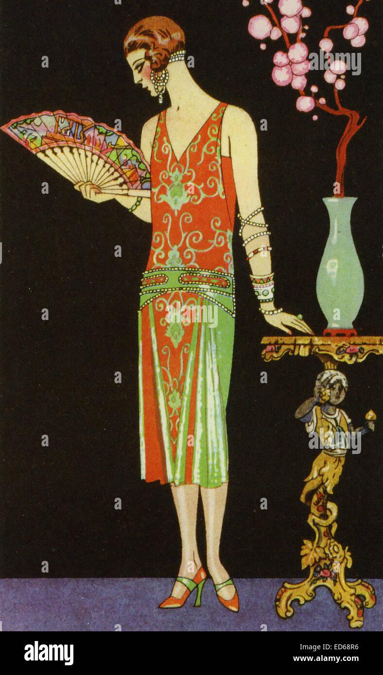 Art Deco Womens Fashion