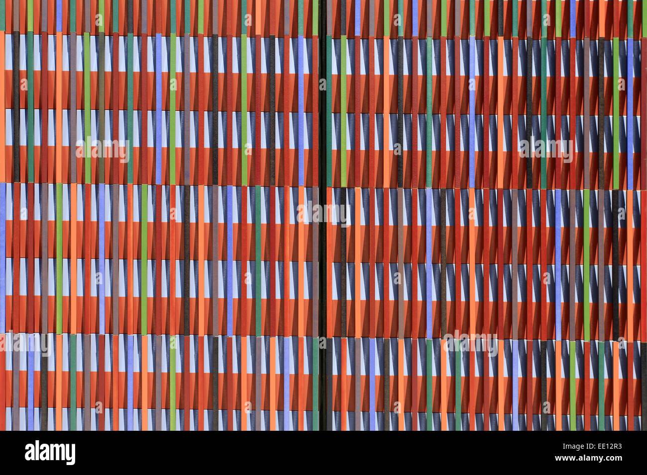 Entzückend Aussenfassade Farben Referenz Von 36, 000 Einzelne Keramikflächen, Architektenbüro Sauerbruch Hutton,