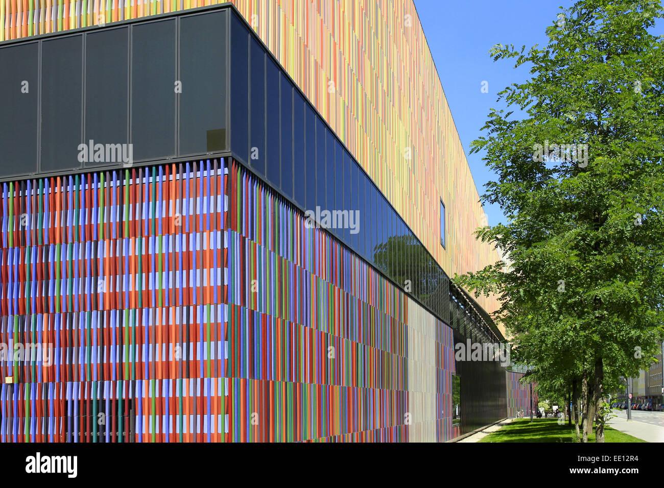 Schön Aussenfassade Farben Galerie Von 36, 000 Einzelne Keramikflächen, Architektenbüro Sauerbruch Hutton,