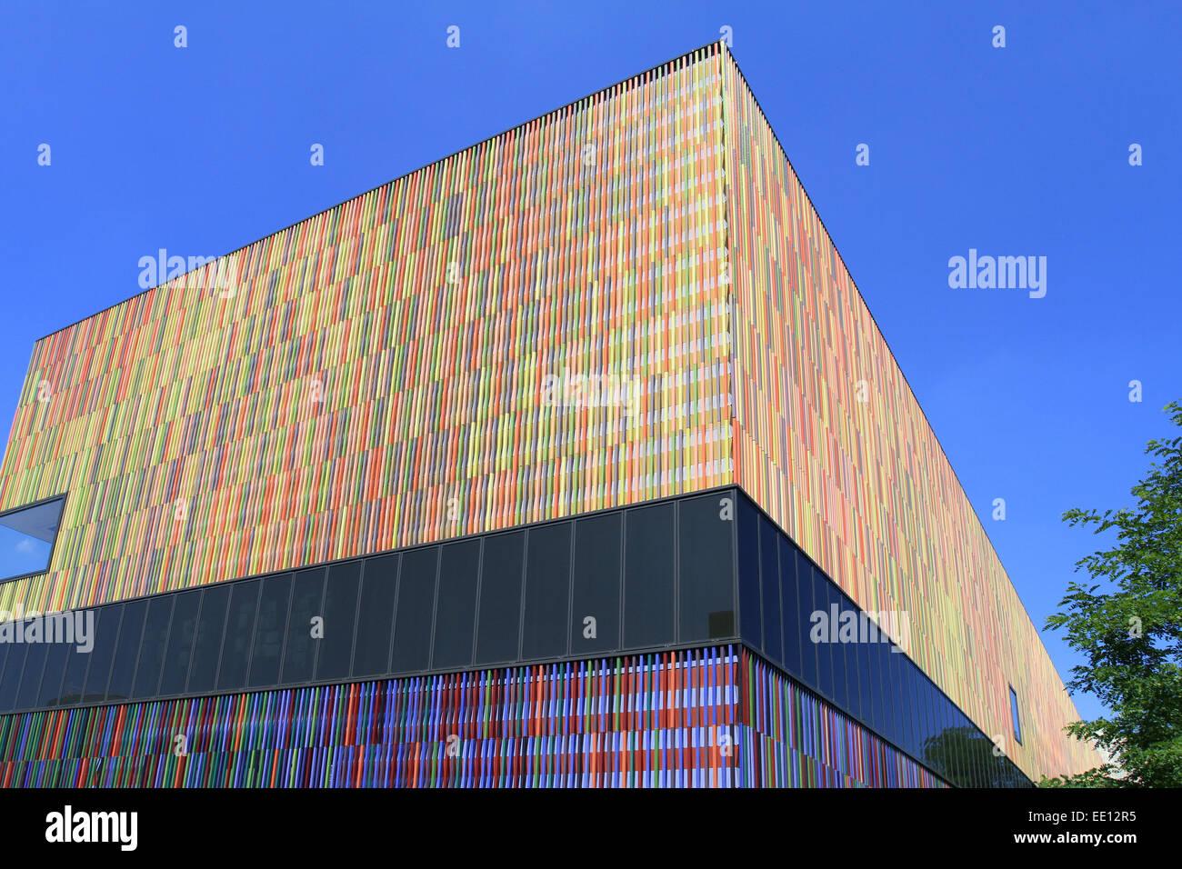 Liebenswert Aussenfassade Farben Das Beste Von 36, 000 Einzelne Keramikflächen, Architektenbüro Sauerbruch Hutton,