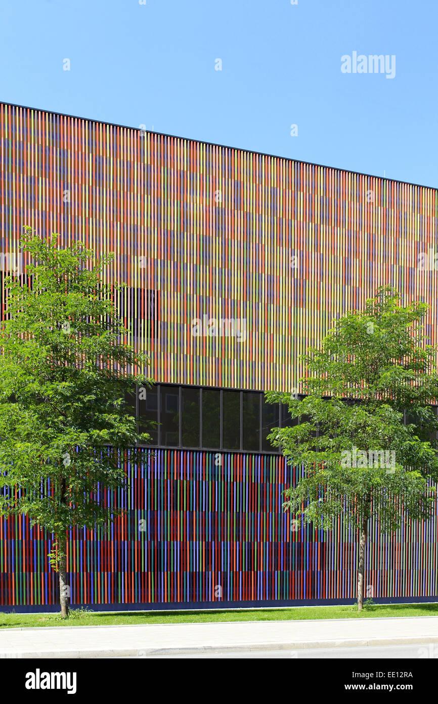 Gewaltig Aussenfassade Farben Ideen Von 36, 000 Einzelne Keramikflächen, Architektenbüro Sauerbruch Hutton,