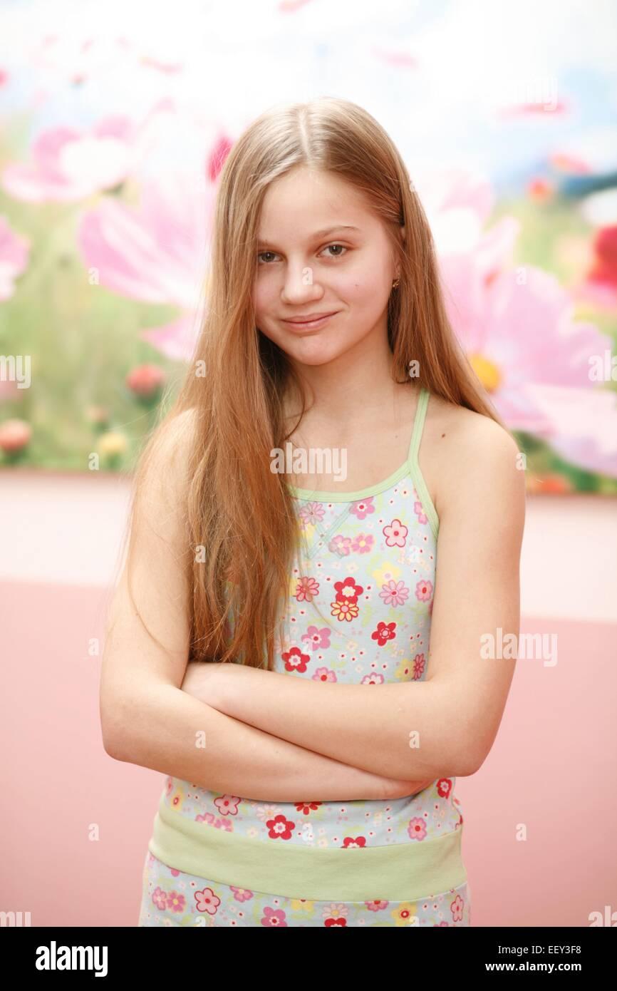 Blond Mädchen