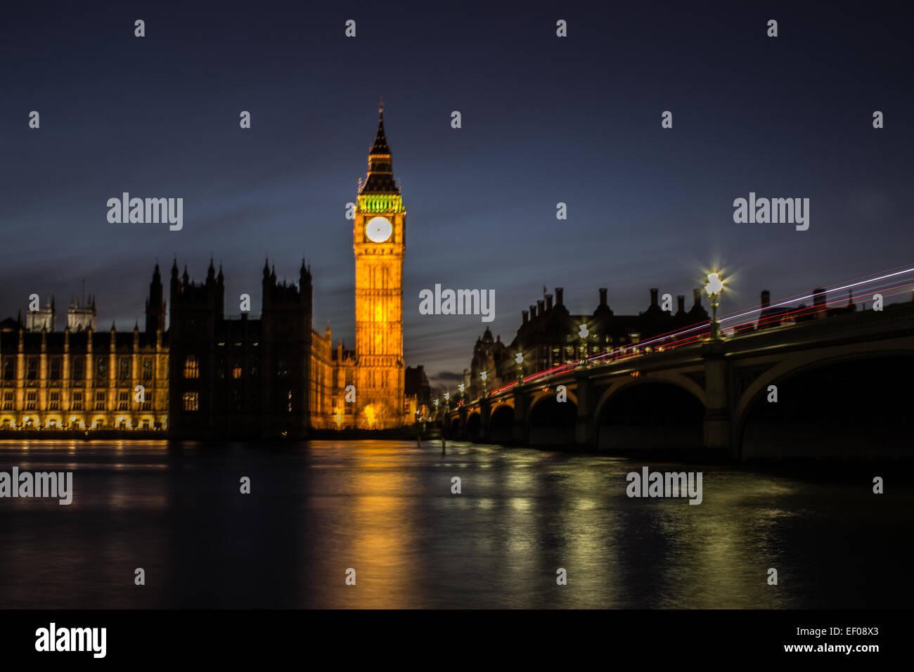 Westminster Bridge - Stock Image
