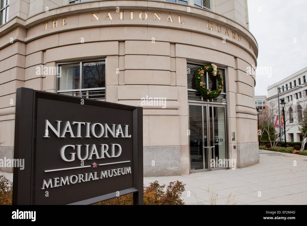National Guard Memorial - Washington, DC USA Stock Photo