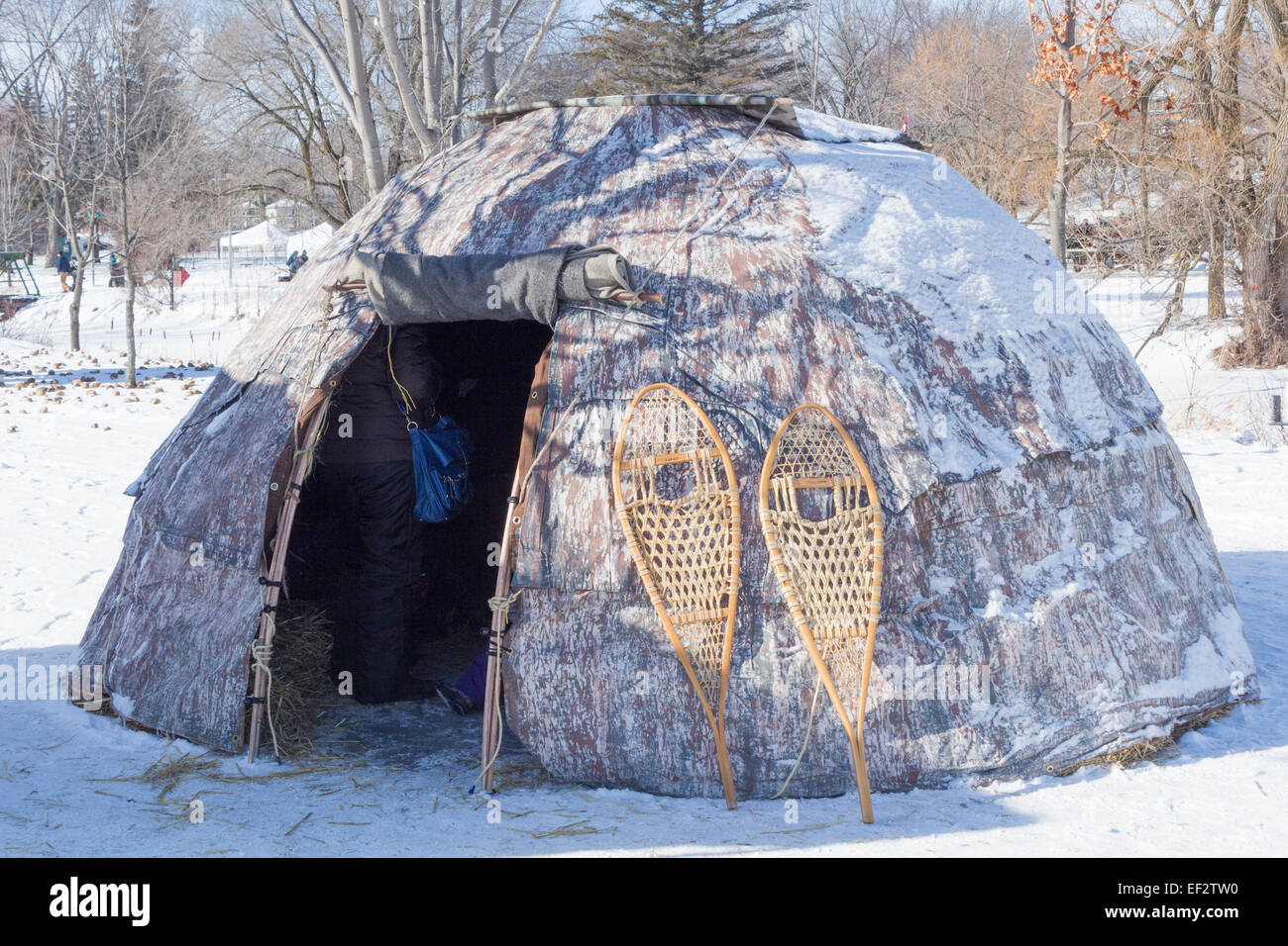 wigwam-at-the-winter-festival-in-canning