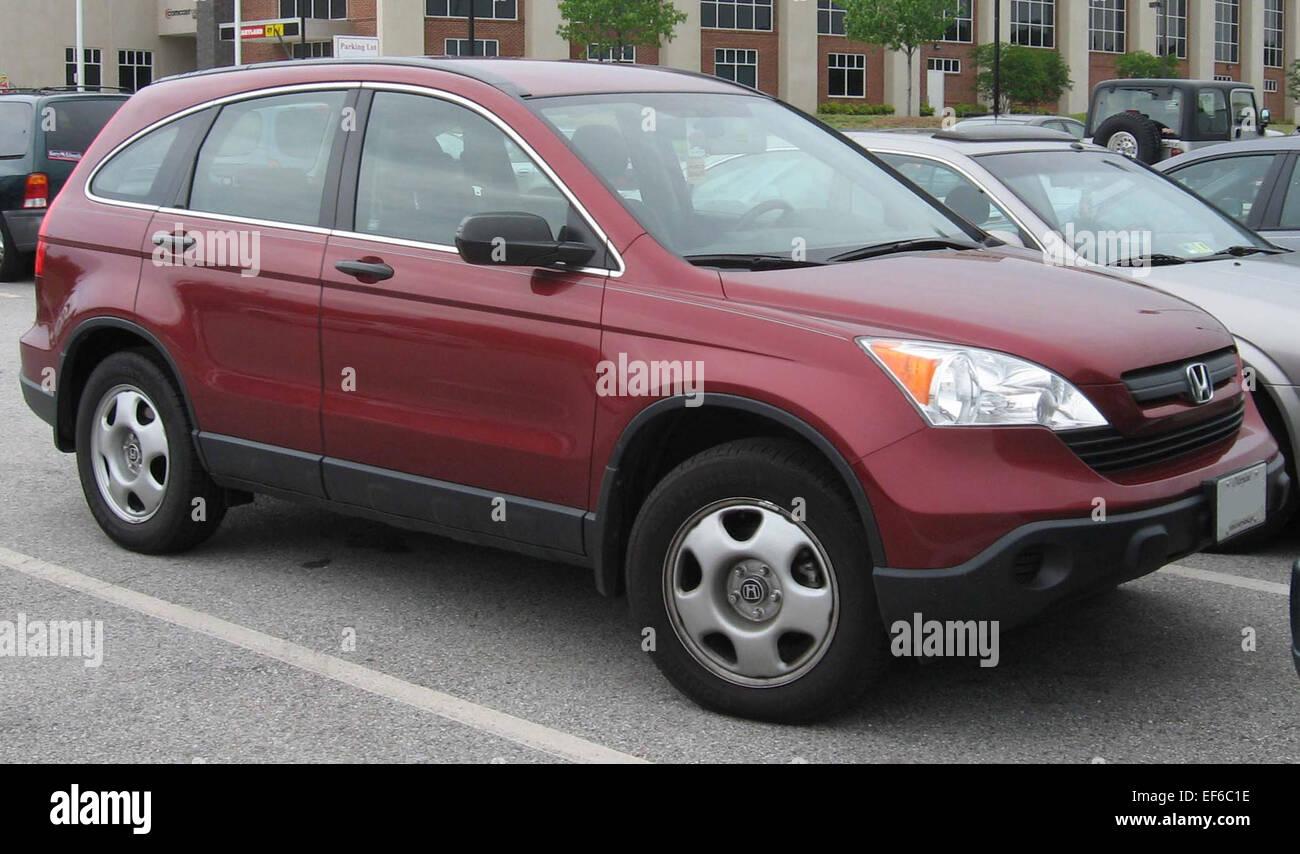 2007 Honda CRV LX - Stock Image