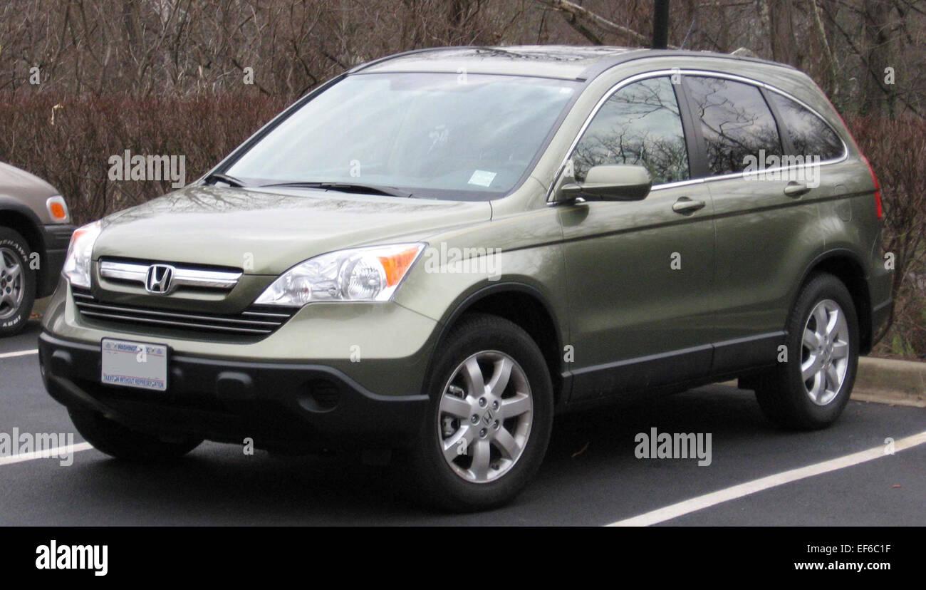 2007 Honda CRV - Stock Image