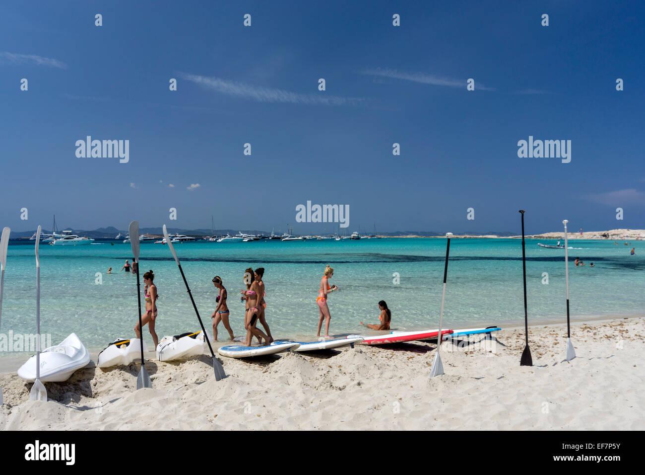 playa de ses illetes formentera balearic islands