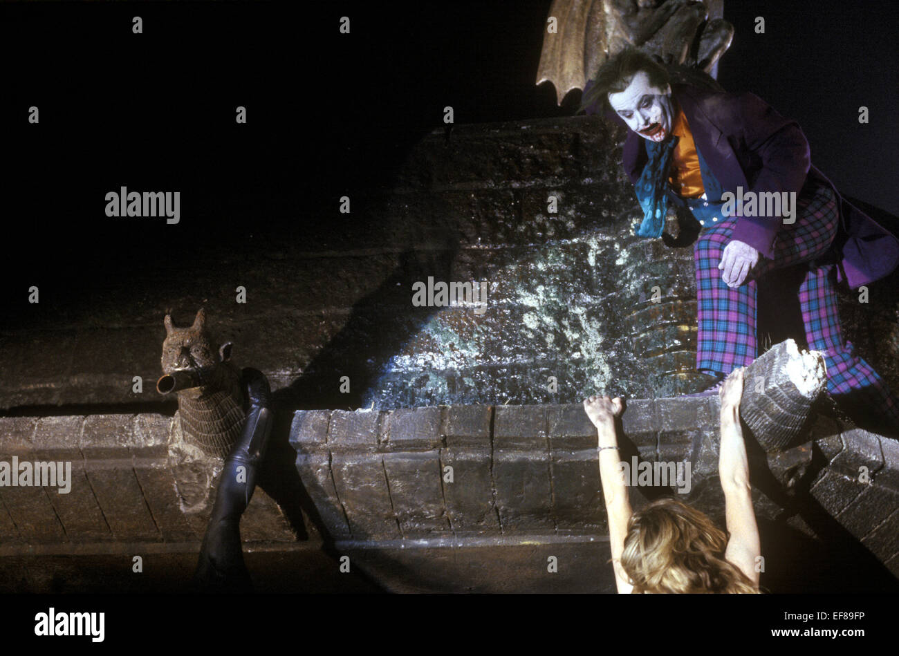 JACK NICHOLSON BATMAN (1989) Stock Photo