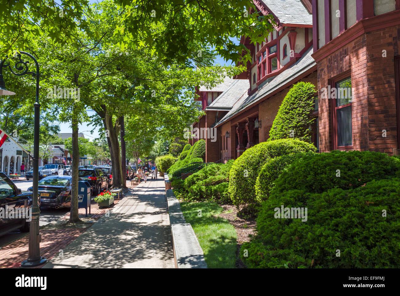 Jobs Lane In The Village Of Southampton Suffolk County Long Island