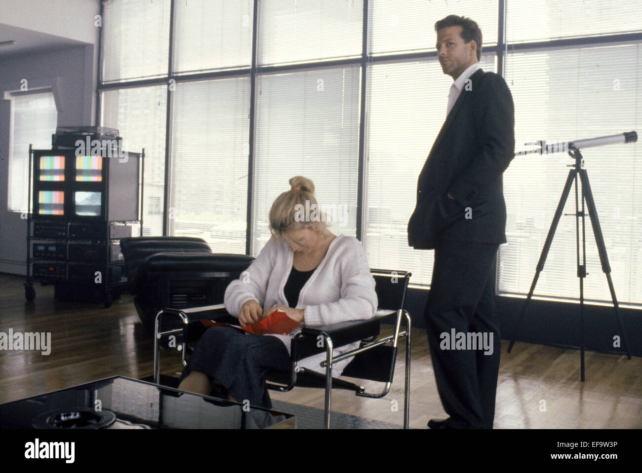 KIM BASINGER MICKEY ROURKE NINE 1 2 WEEKS 9 AND A HALF 1986