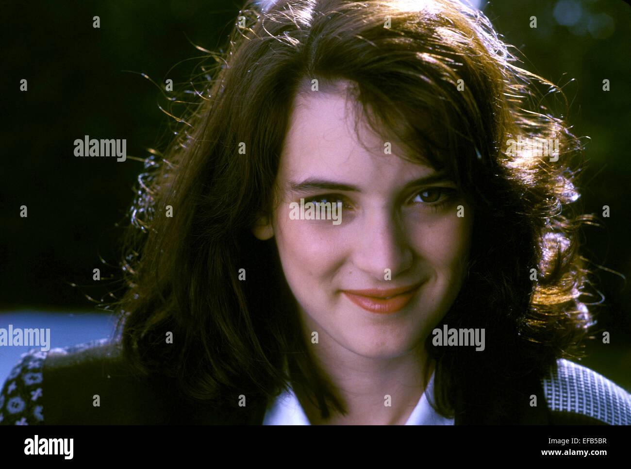 WINONA RYDER HEATHERS (1989) Stock Photo