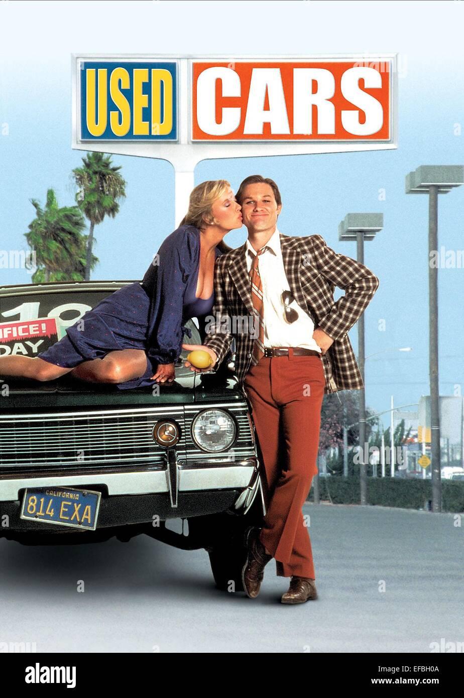 DEBORAH HARMON & KURT RUSSELL POSTER USED CARS (1980 Stock Photo ...